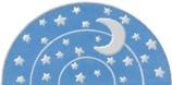 Wohngruppen Logo Mond und Sterne